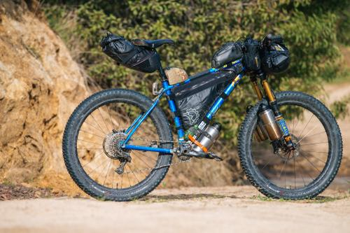 Tom's Hunter Cycles 27.5+ Hardtail Loaded Up for the Baja Divide