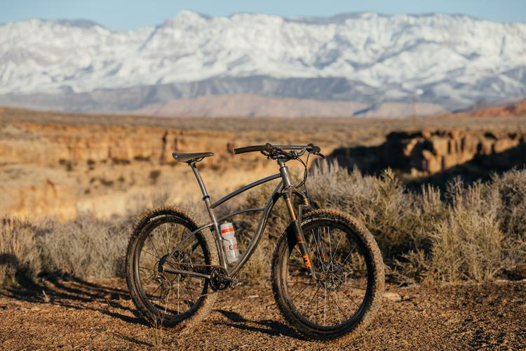 Josh from Angry Catfish's Oddity 27.5+ Hardtail