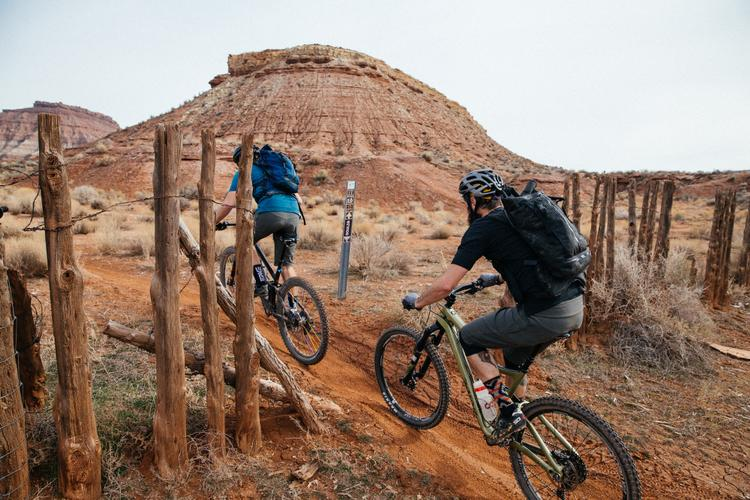 Rockin n Rollin' in Hurrah-kin on the IMBA Epic Rim Loop