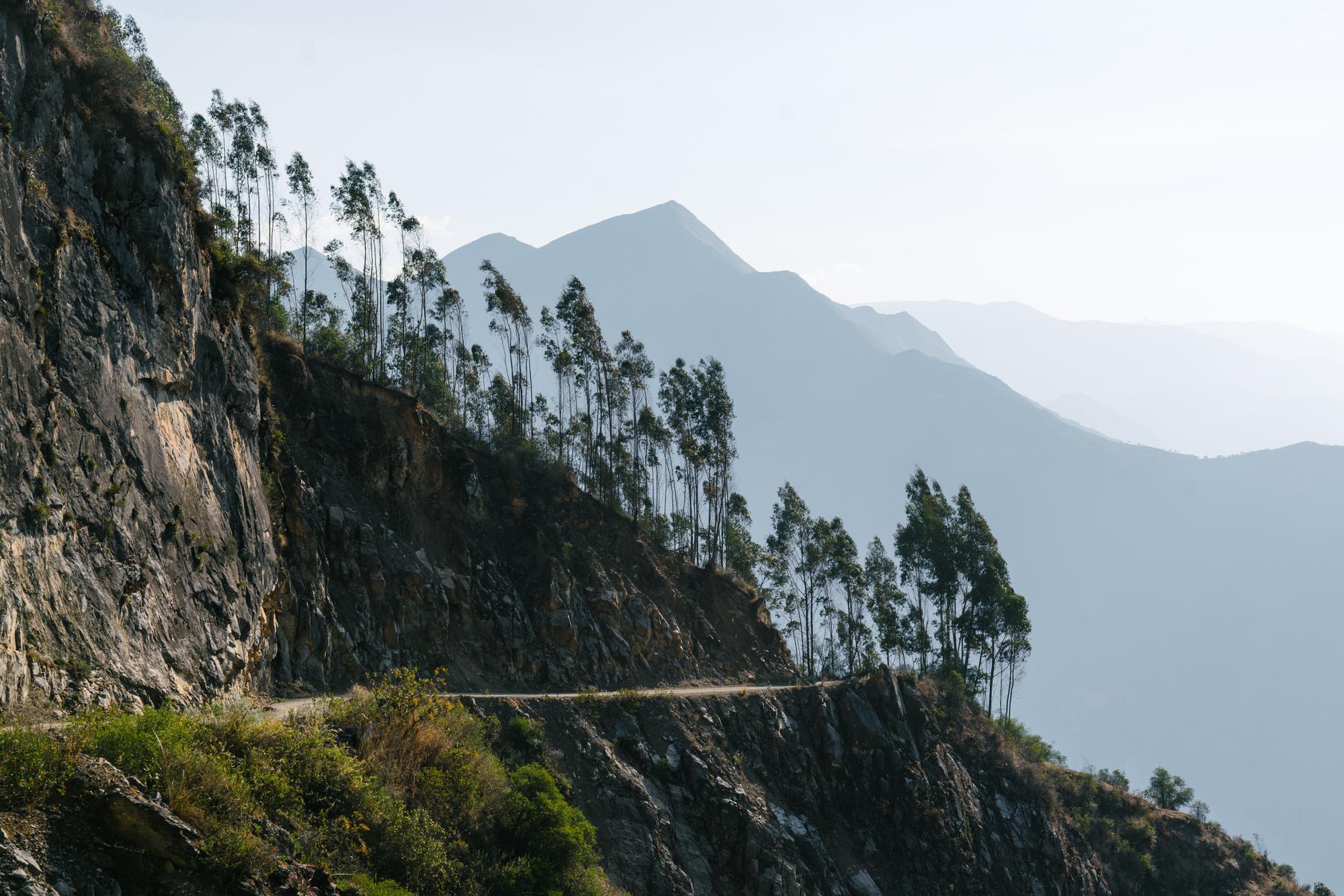 Windswept ridgeline
