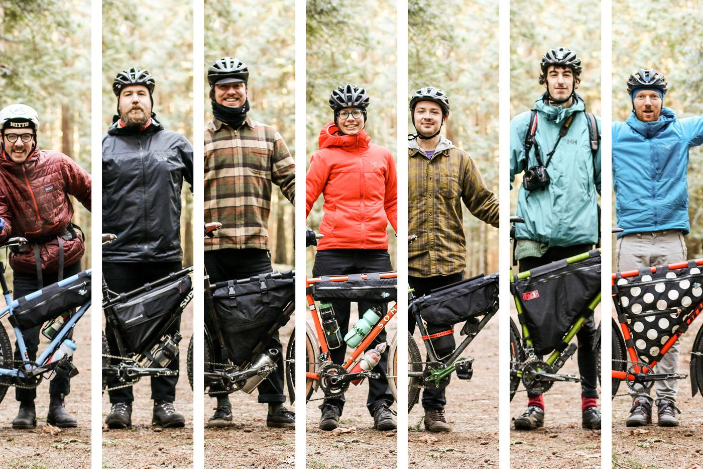 Seven Rider Portraits from a Winter Overnight – Morgan Taylor
