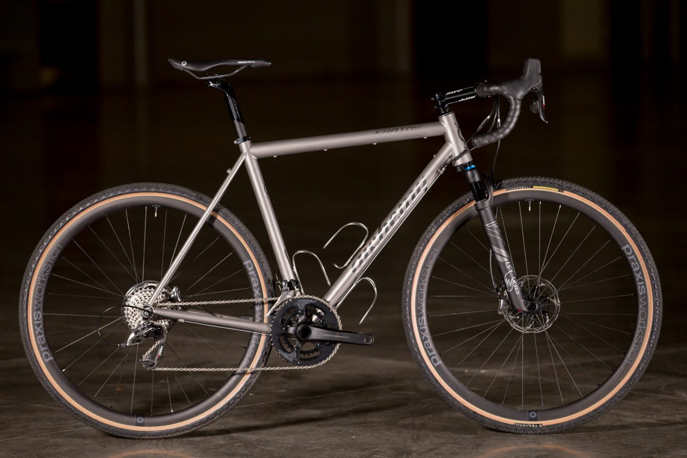 2017 Nahbs Alchemy Kratos With The Fox Ax 40mm Suspension