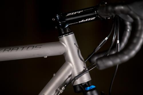 2017 NAHBS: Alchemy Kratos with the Fox AX 40mm Suspension Fork
