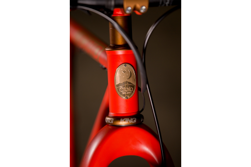 2017 NAHBS: Cielo Dirt Drop Bourbon and Fire MTB