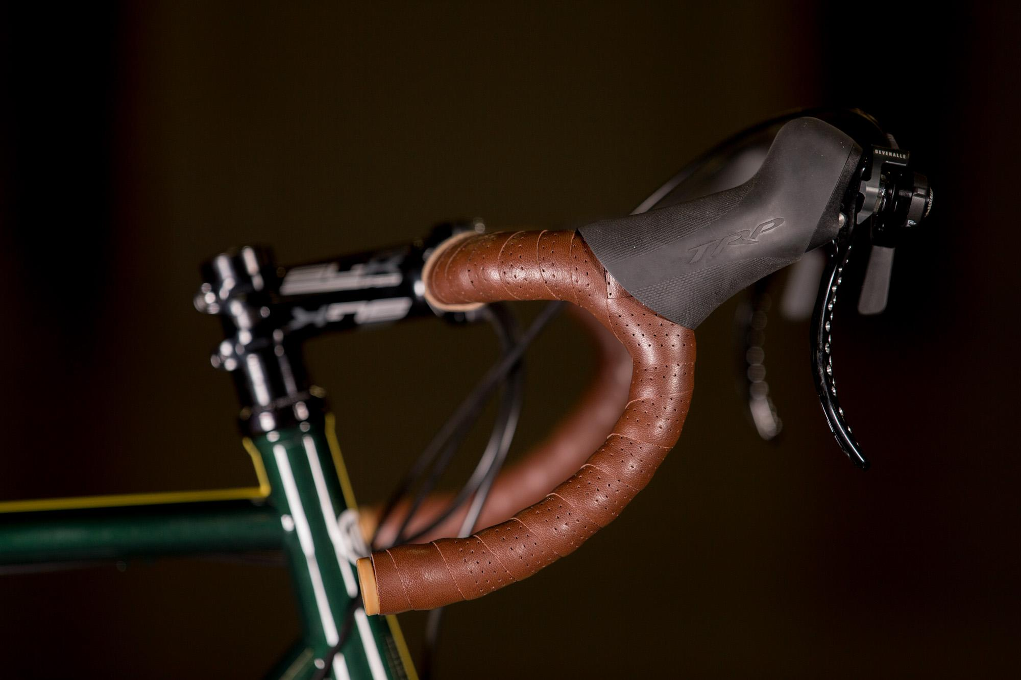 2017 NAHBS: Igleheart Disc Road with Gevenalle and Hifi