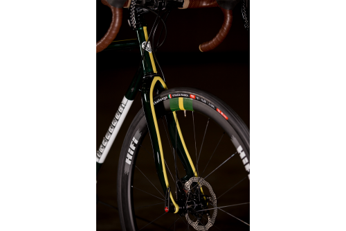 2017 NAHBS- Igleheart Disc Road with Gevenalle and Hifi-4