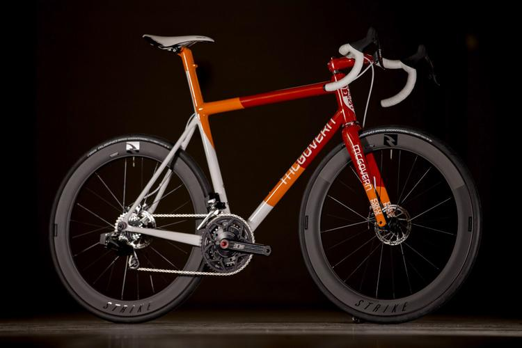 2017 NAHBS: McGovern Cycles Tequila Sunrise Disc Road