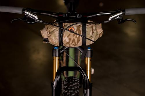 2017 NAHBS: Meriwether Hardtail with Bedrock Bikepacking Bags