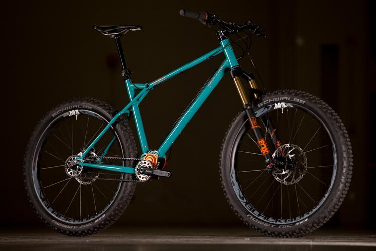 2017 NAHBS: Portus Cycles Hardtail with a Pinion Gearbox