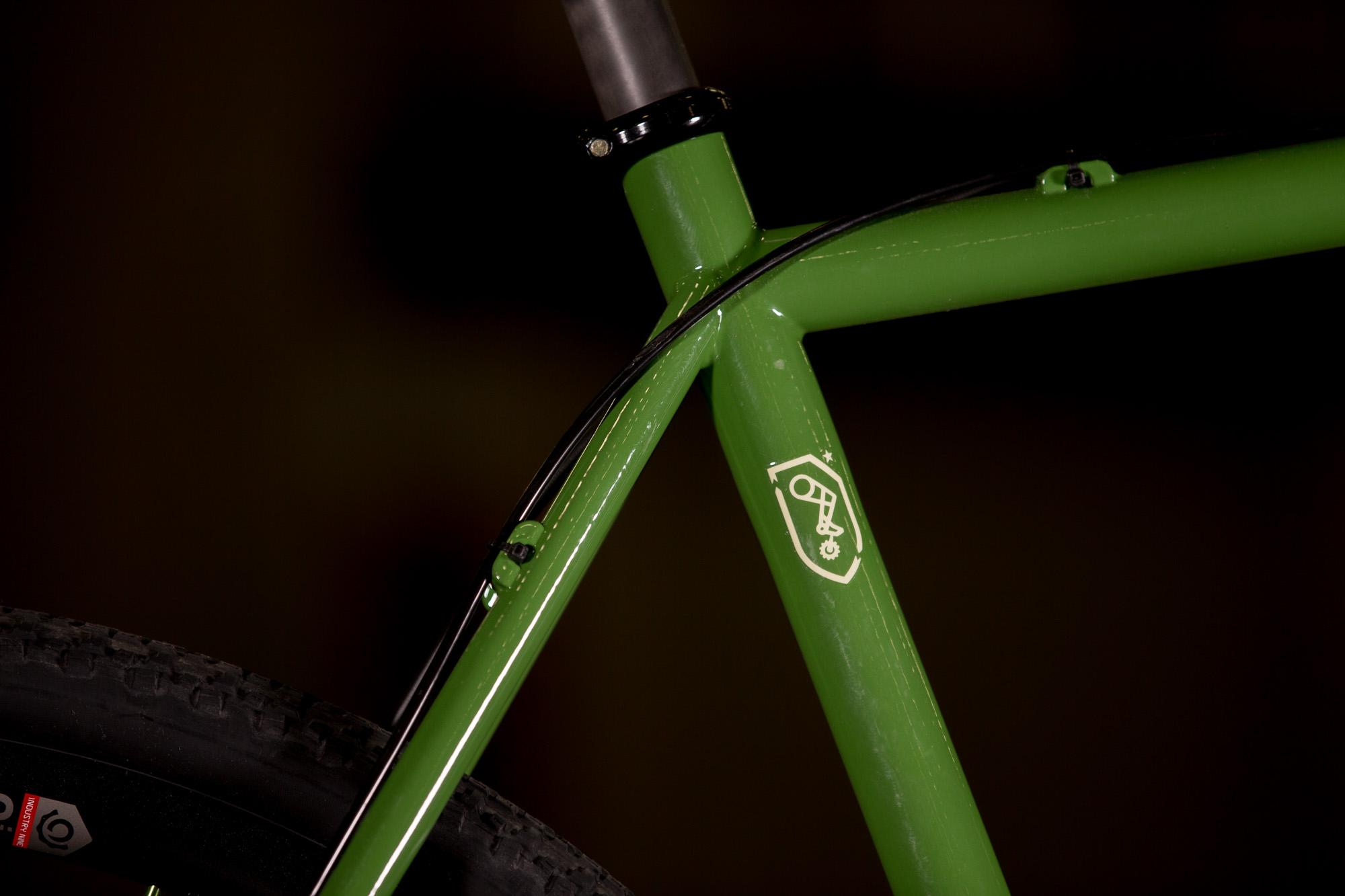 2017 NAHBS: Proudfoot All Road with Lauf Grit Fork