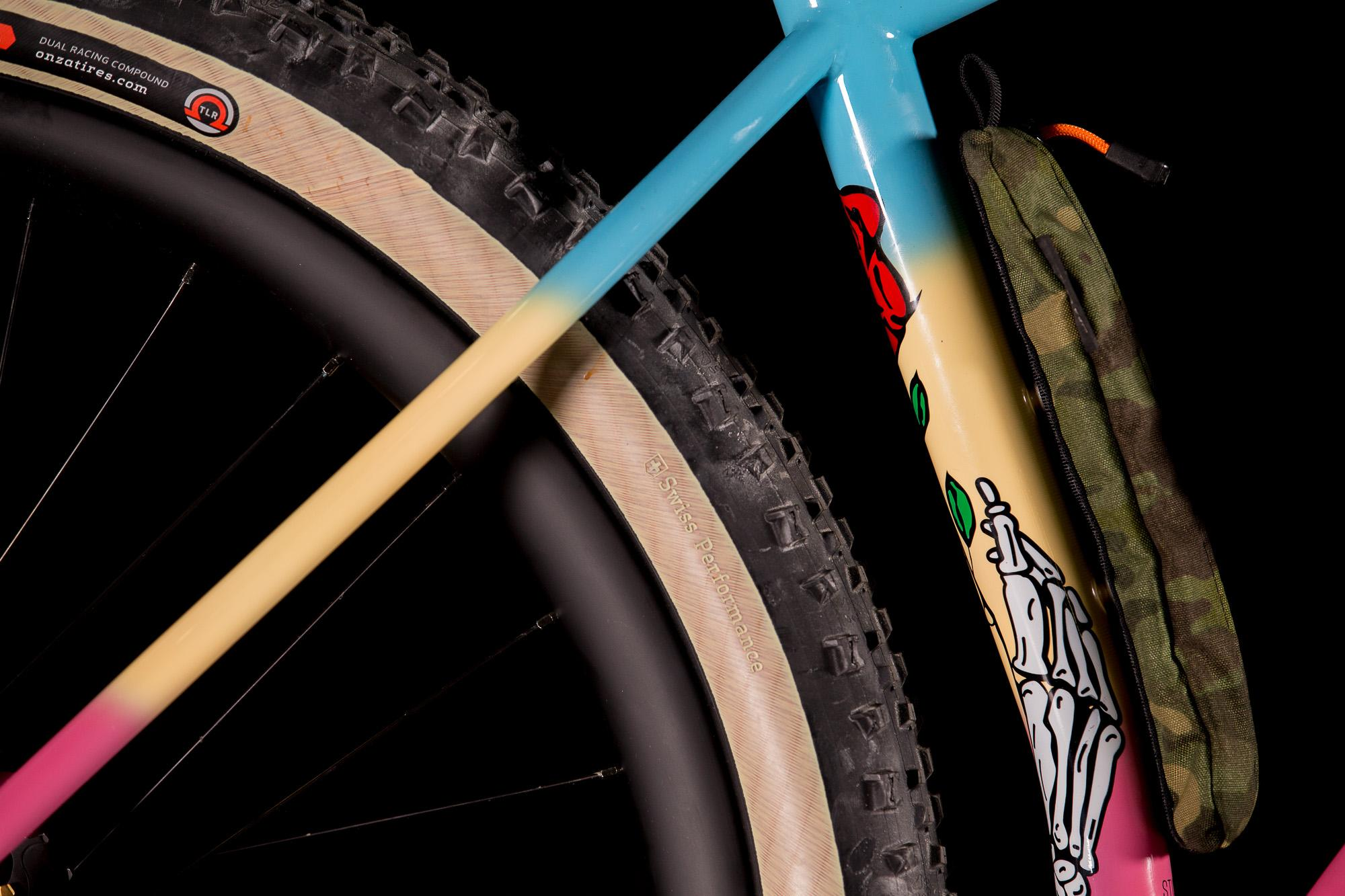 2017 NAHBS: Stinner Frameworks GSC Grateful Dead Shred Sled