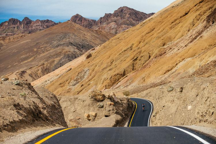 A Sunday Spin on Artist Drive in Death Valley National Park