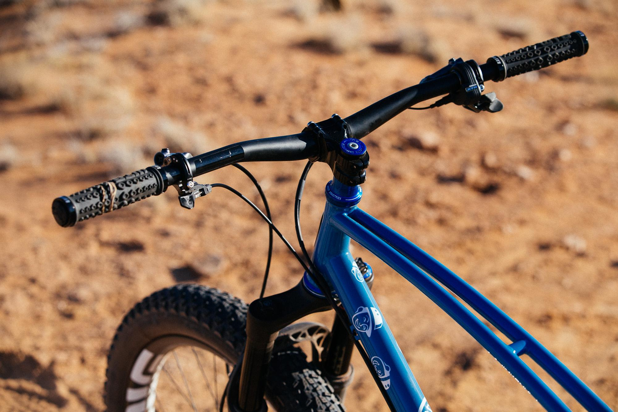 Curtis Inglis' 29+ Retrotec Hardtail