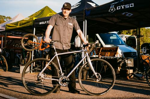 Dan with Wolf Tooth and Otso Cycles