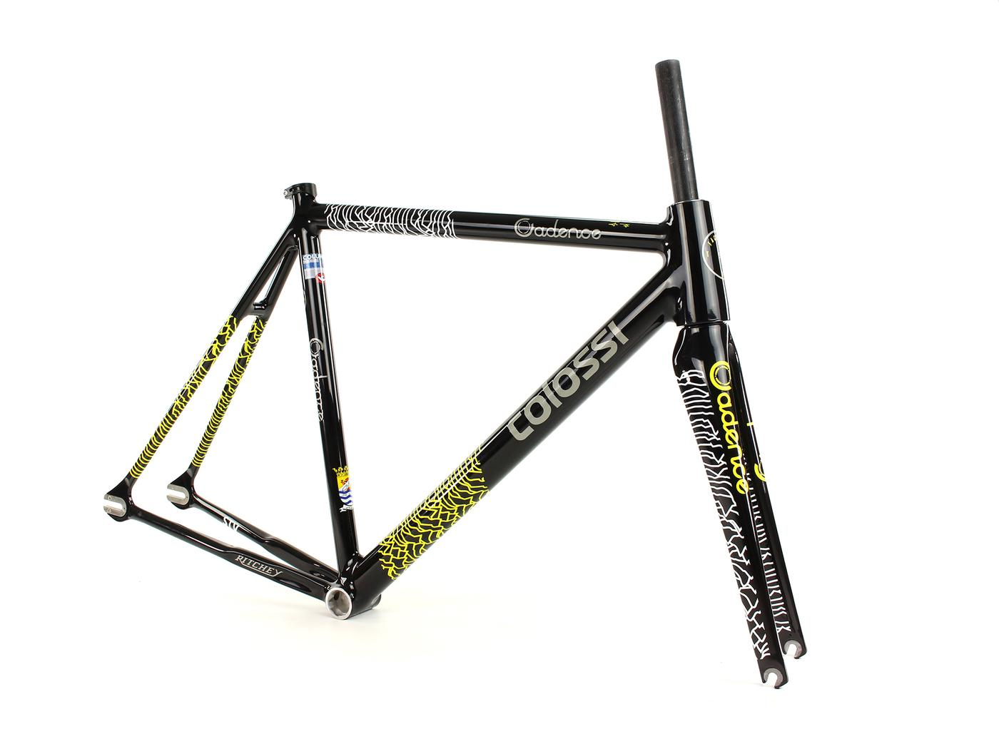 The Dustin Klein-Designed Cadence Colossi 2017 Team Track Frame
