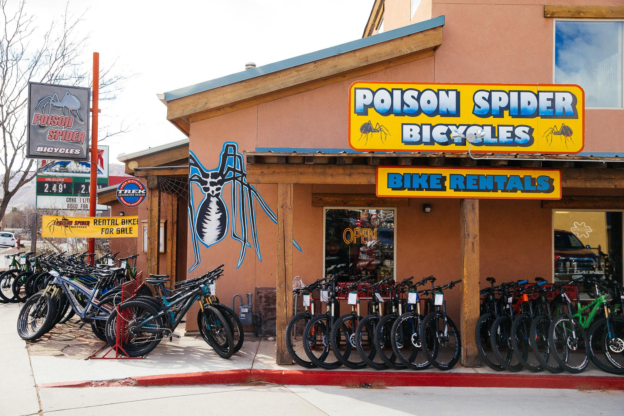 Stop by the Poison Spider