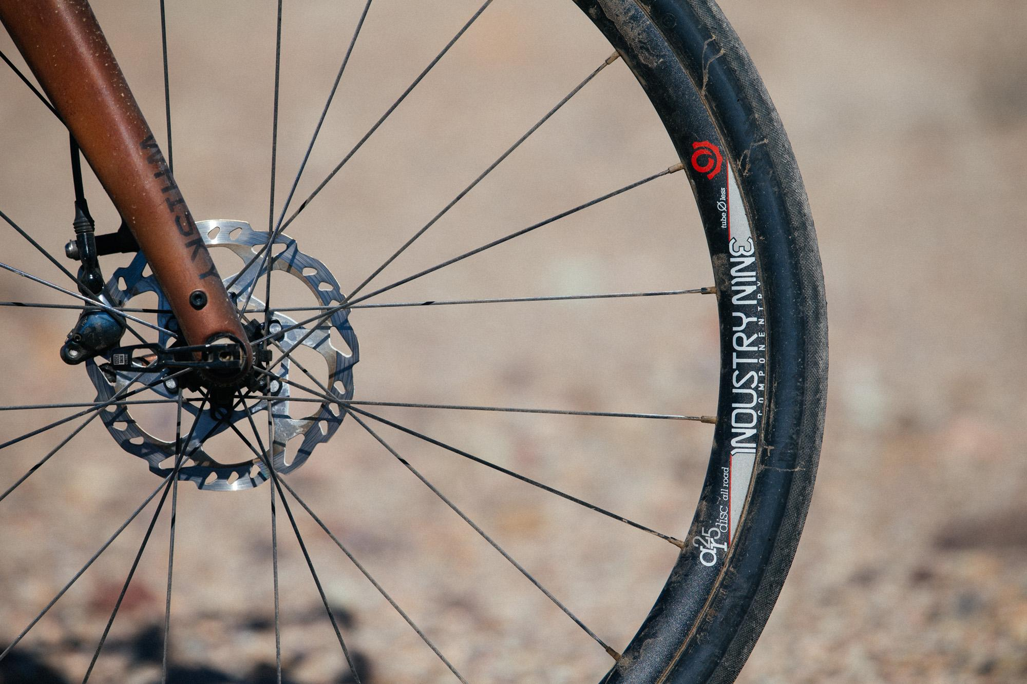 Smooth Rolling with Industry Nine's AR25 Disc All Road Wheels