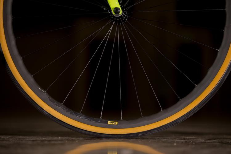 A Look at the Team Dream Stinner Road with Mavic Open Pro Wheels