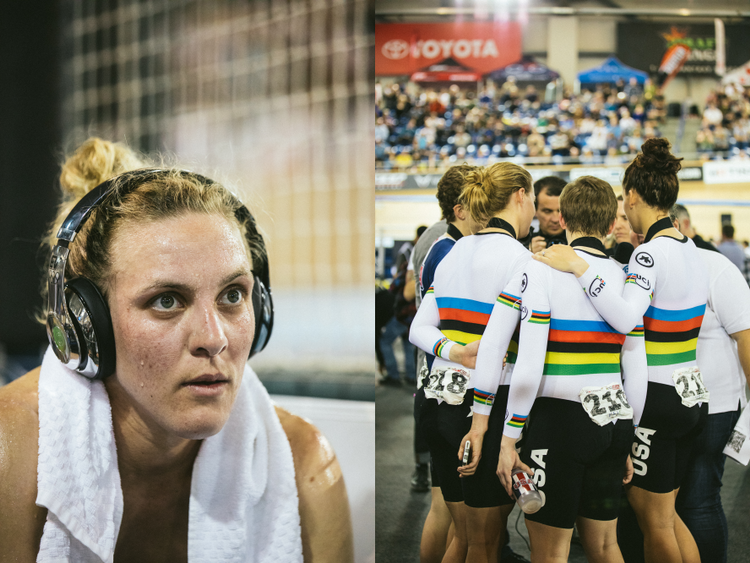 Behind the Scenes at the UCI Track Cycling World Cup Los Angeles – Eugene Kim