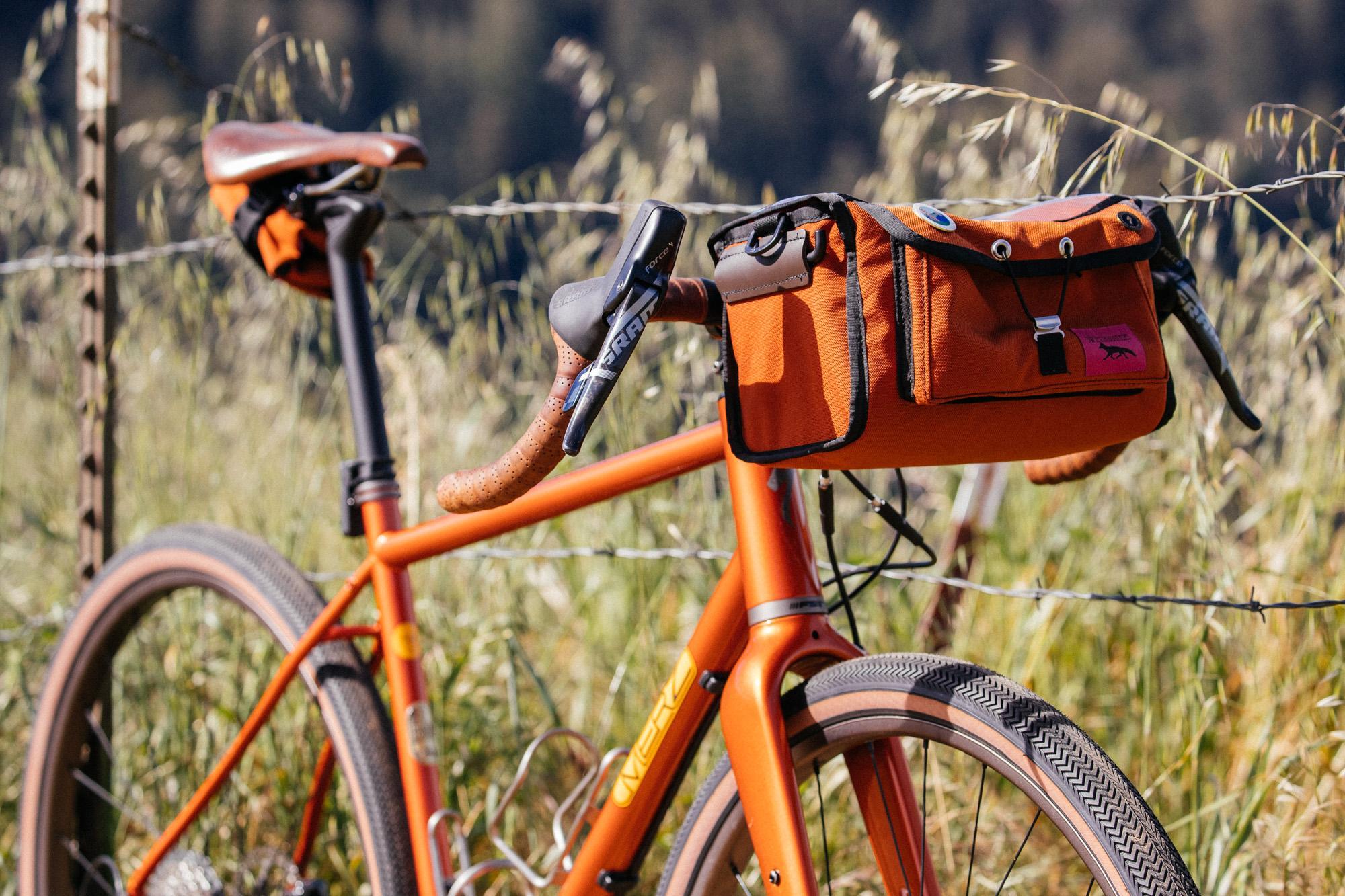 Erik Nohlin's Merz Edition Sequoia fresh off a 400km Brevet