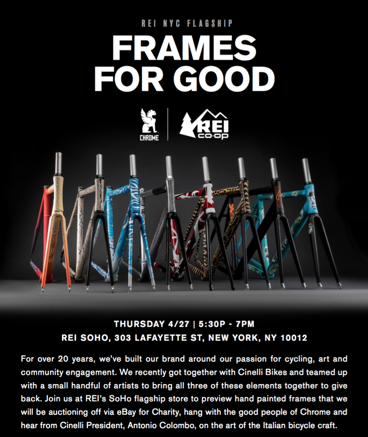 Frames for Good Auction