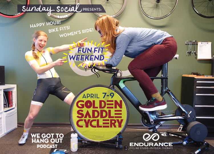 Fun Fit Weekend at Golden Saddle Cyclery