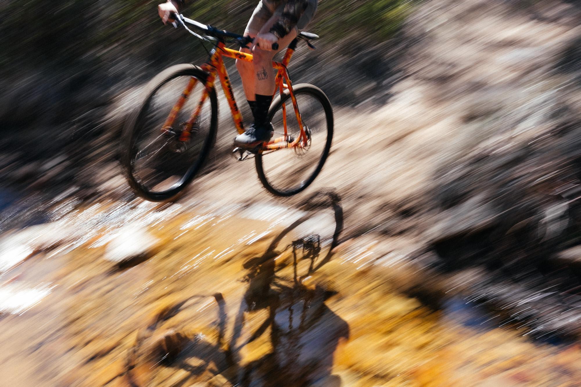Lucas' Orange Camo Cannonball Stoemper SSCX