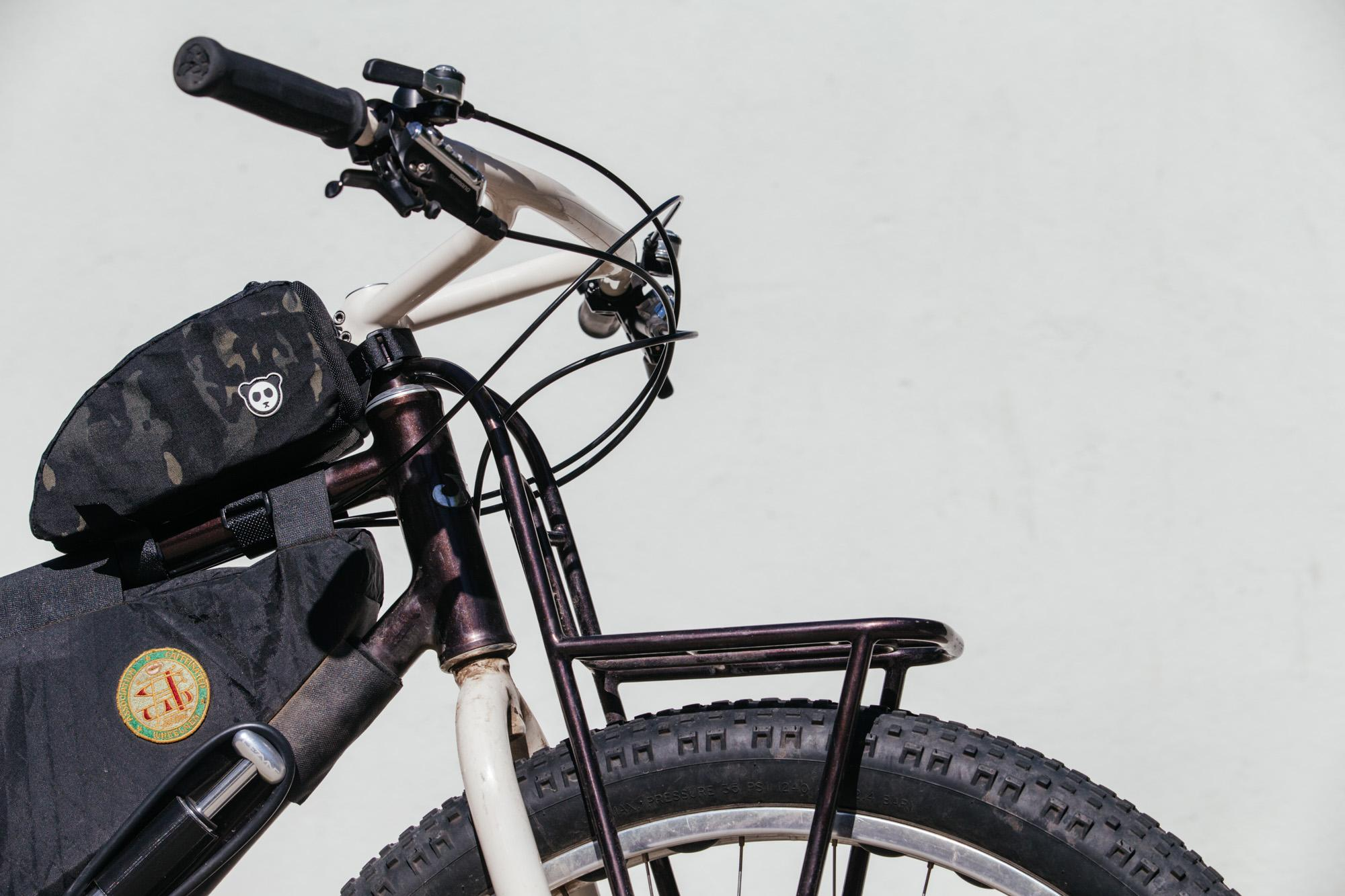 Raymond's Australia-Bound Moustache Cycles Bike Packing Rig