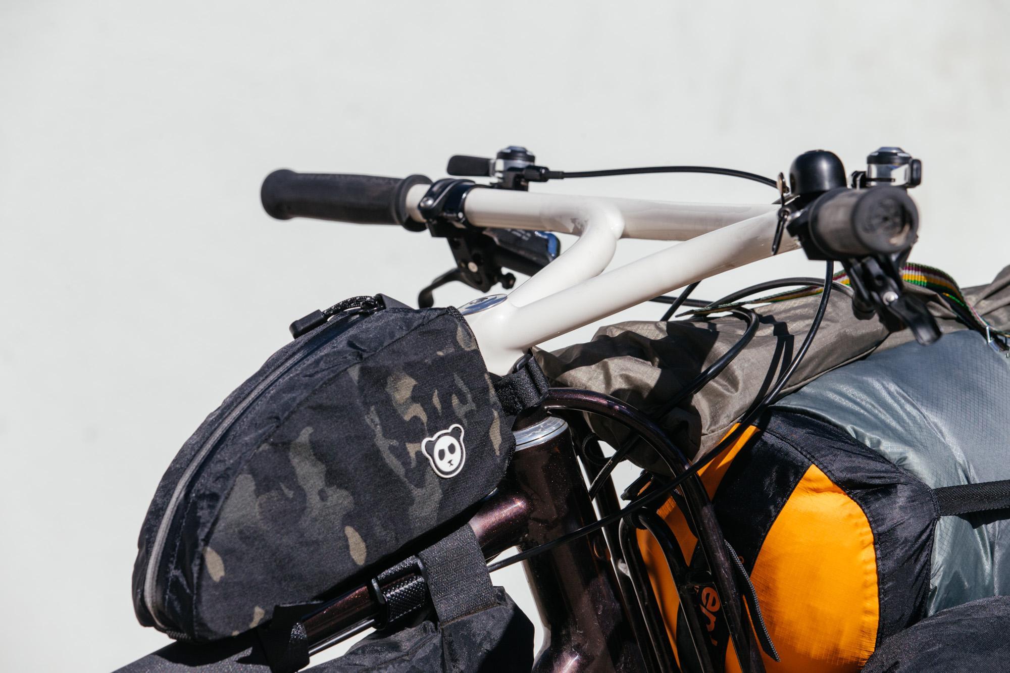 Raymond's Australia-Bound Moustache Cycles Bike Packing Rig