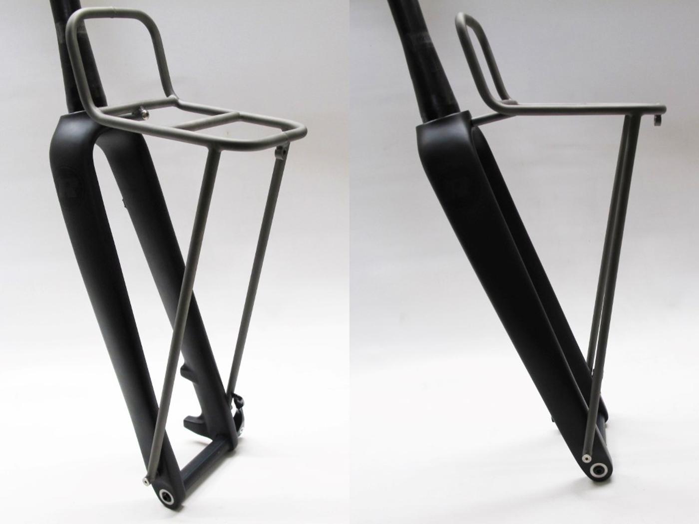 Ren Cycles GX1 Carbon fork with Titanium Rando Rack