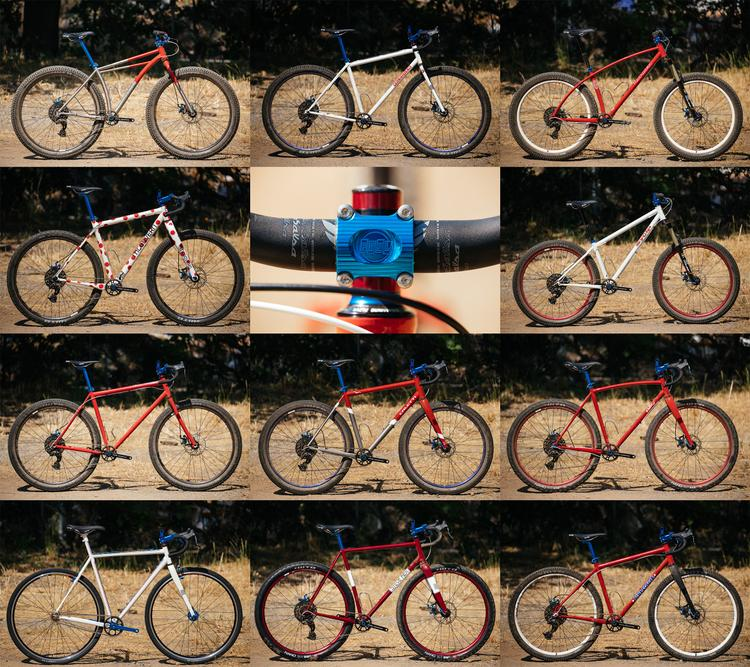 The Eleven Bikes of the 2017 Paul Camp Builder Fleet