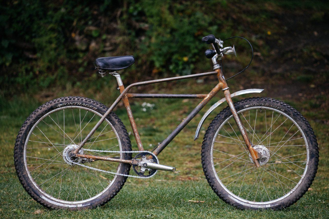 Andrew S Hack Bike Derby Not So Trusty Rusty Klunker The Radavist