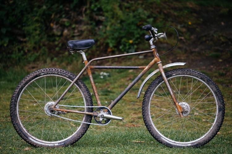 Andrew's Hack Bike Derby Not-So-Trusty Rusty Klunker