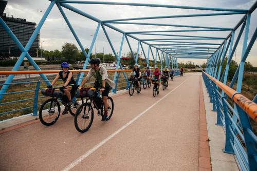 Bike bridges.