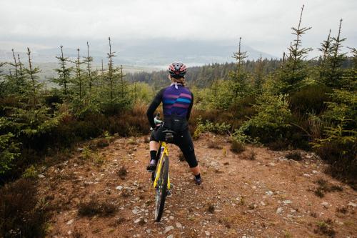 Soaking in the Scottish landscape.