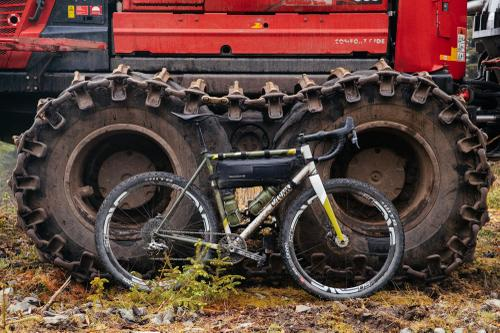 Plus-sized tires.