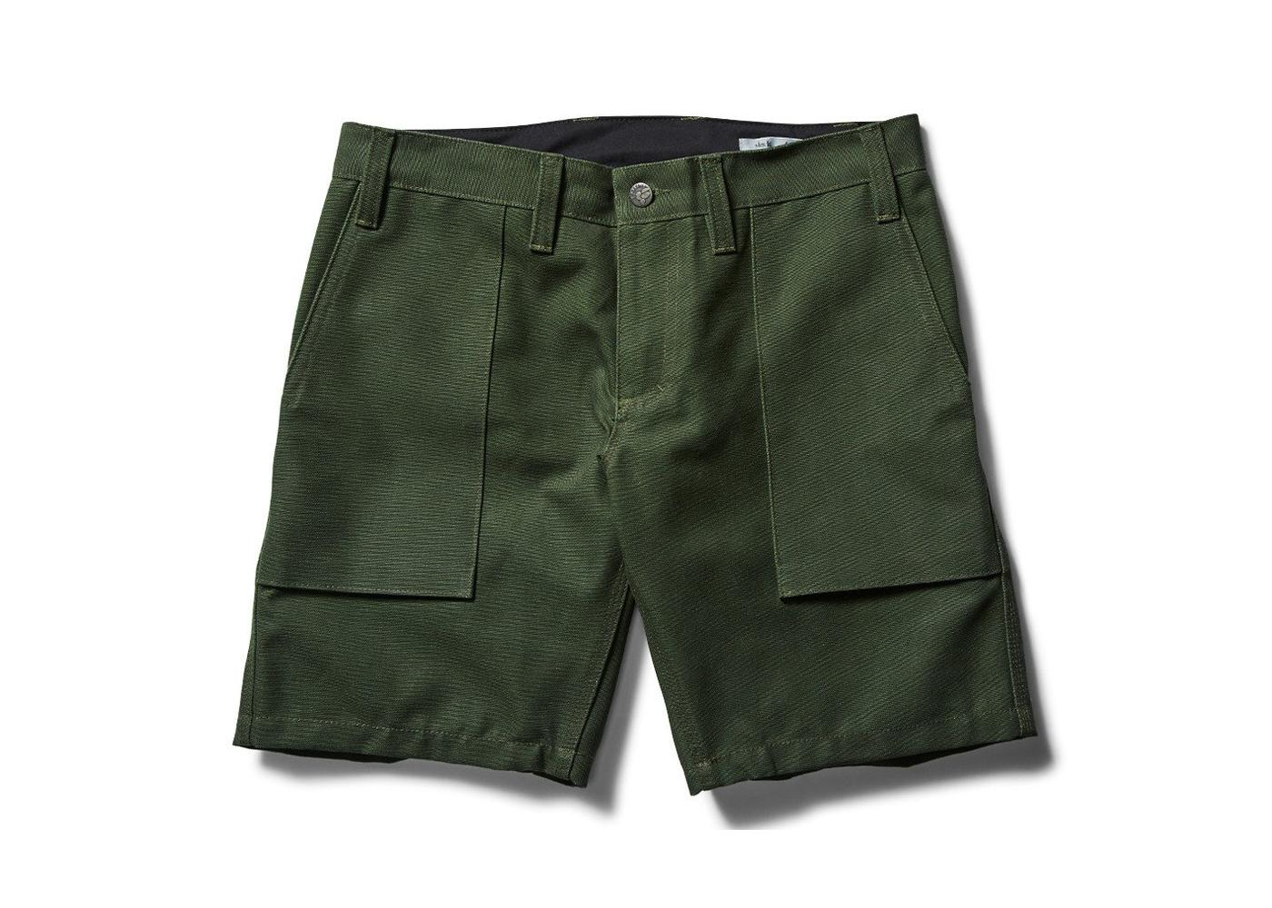 Swrve's _blk label Heavy Canvas Camp Shorts