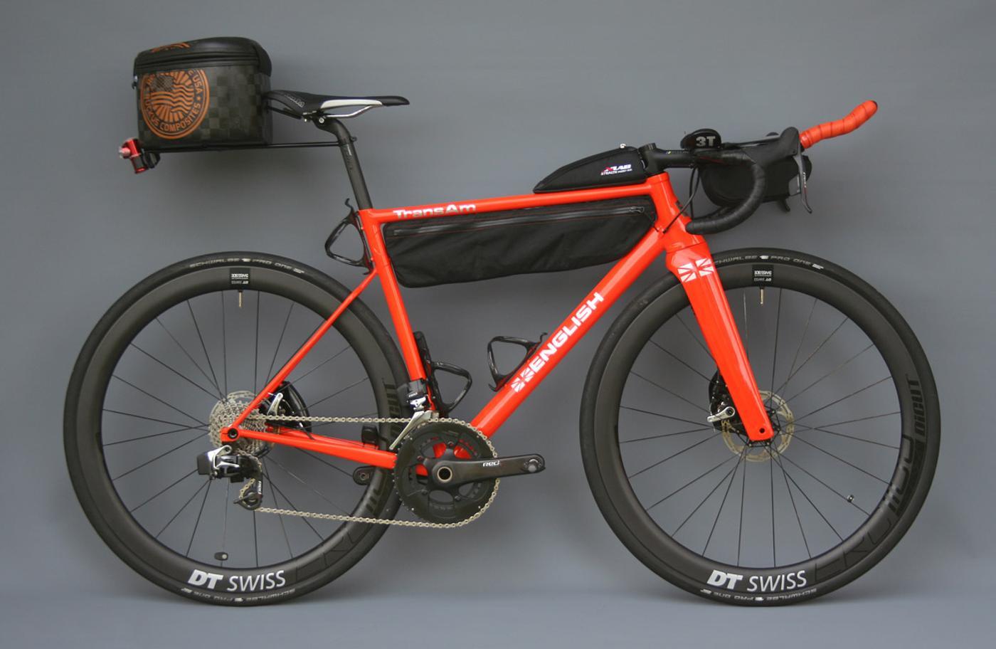 Rob English's Trans America Race Bike