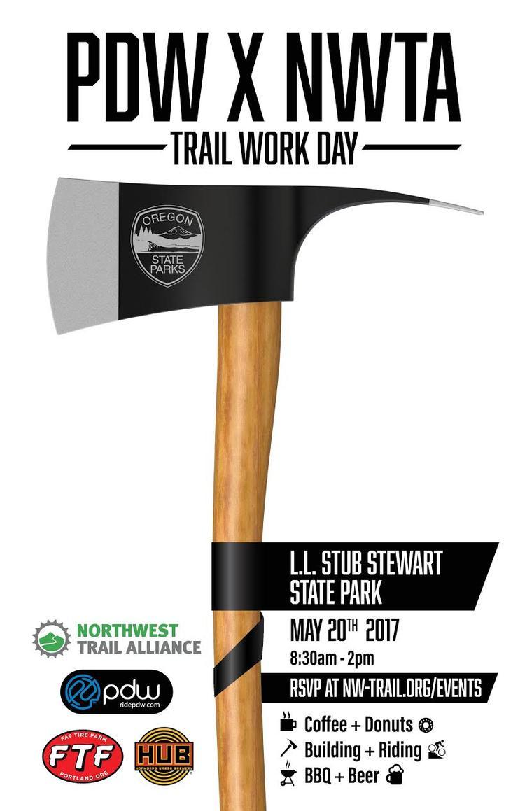 PDW Trail Work Day