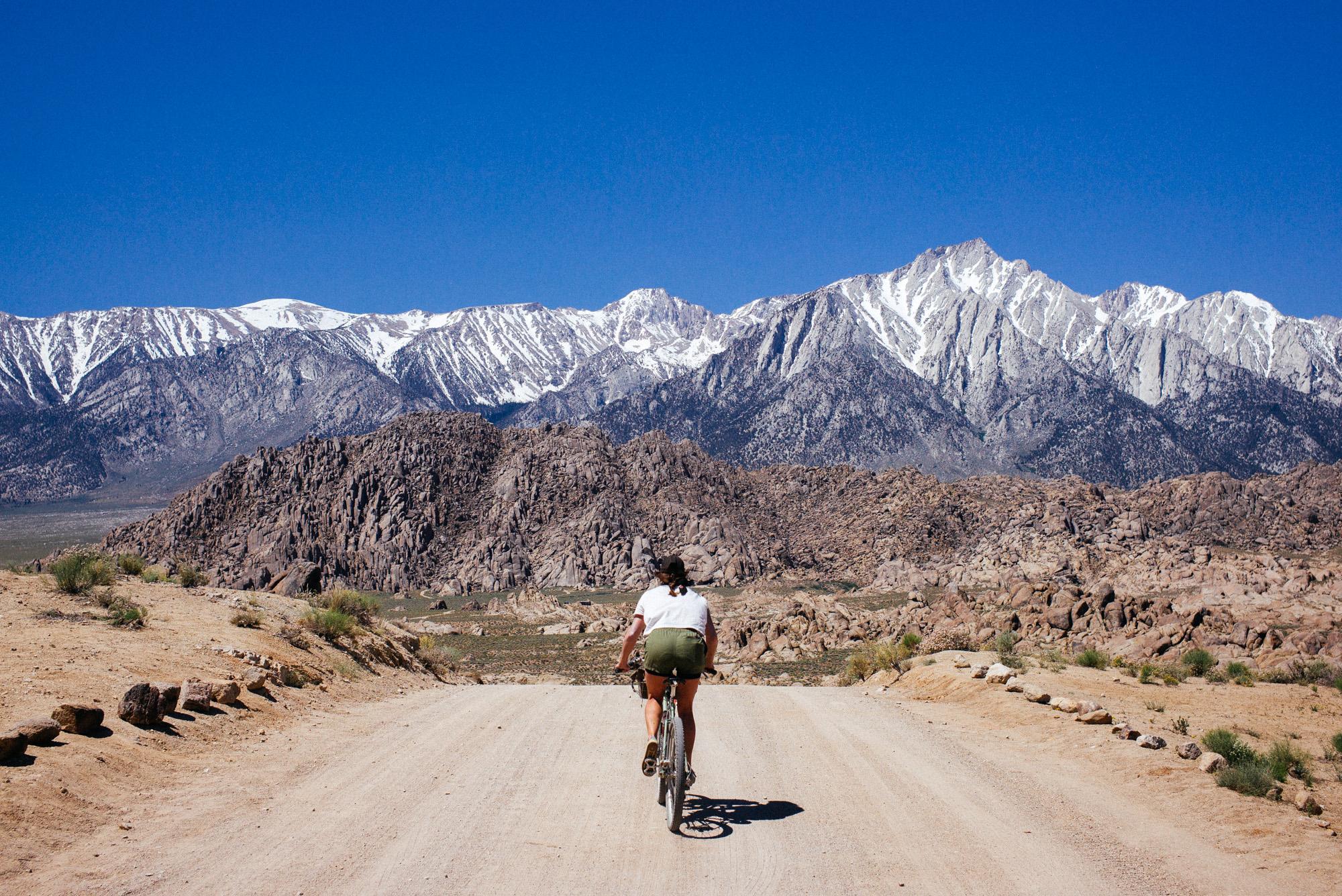 Taking off towards the Sierra