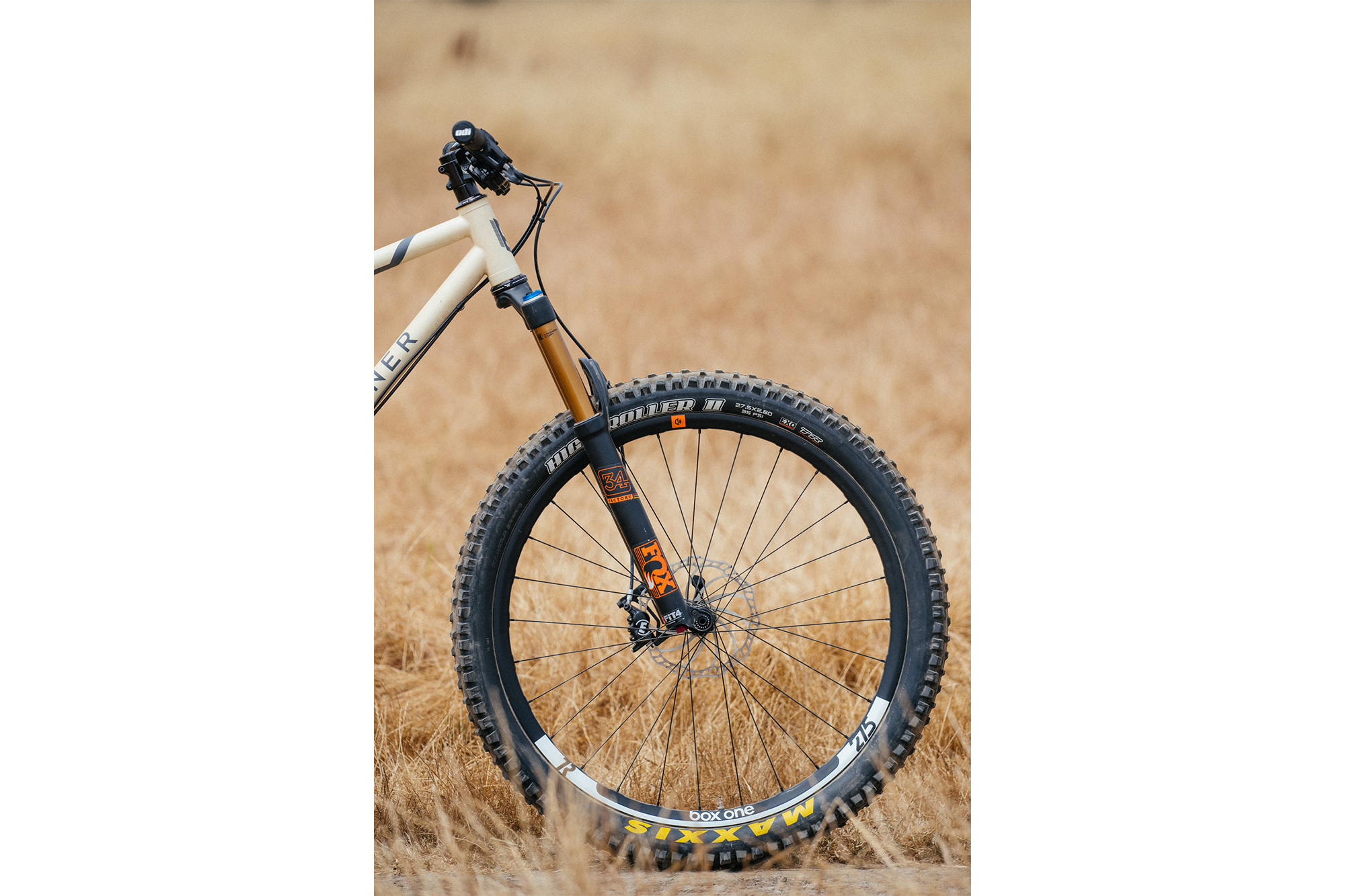 F*ck Yeah Desert Tan Stinner Hardtail with Box Components