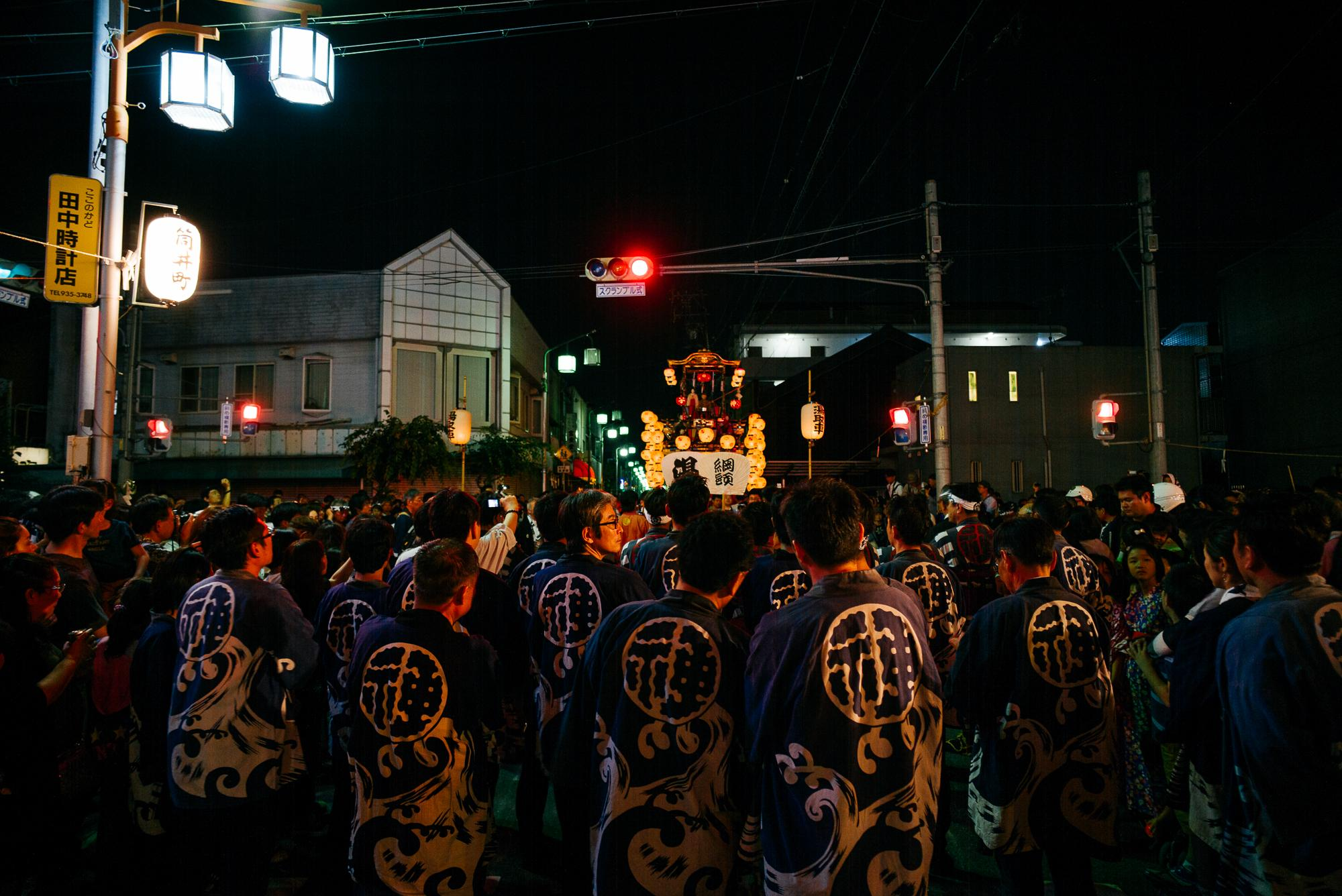 Nagoya street festival.