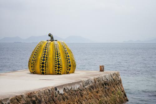 Yayoi Kusama's Pumpkin