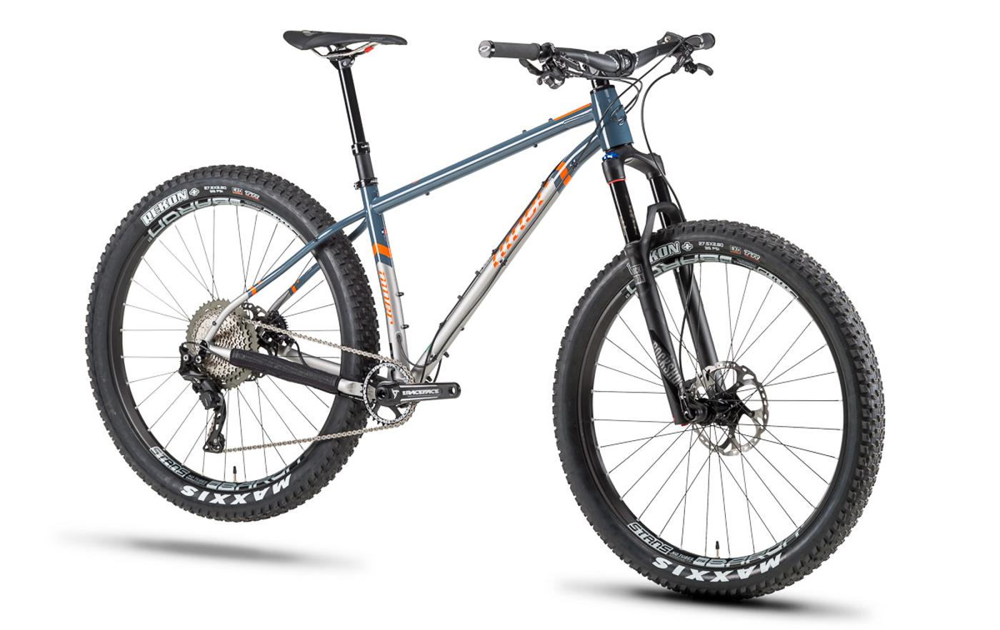 The New Niner Sir 9 Hardtail MTB is made from Reynolds 853