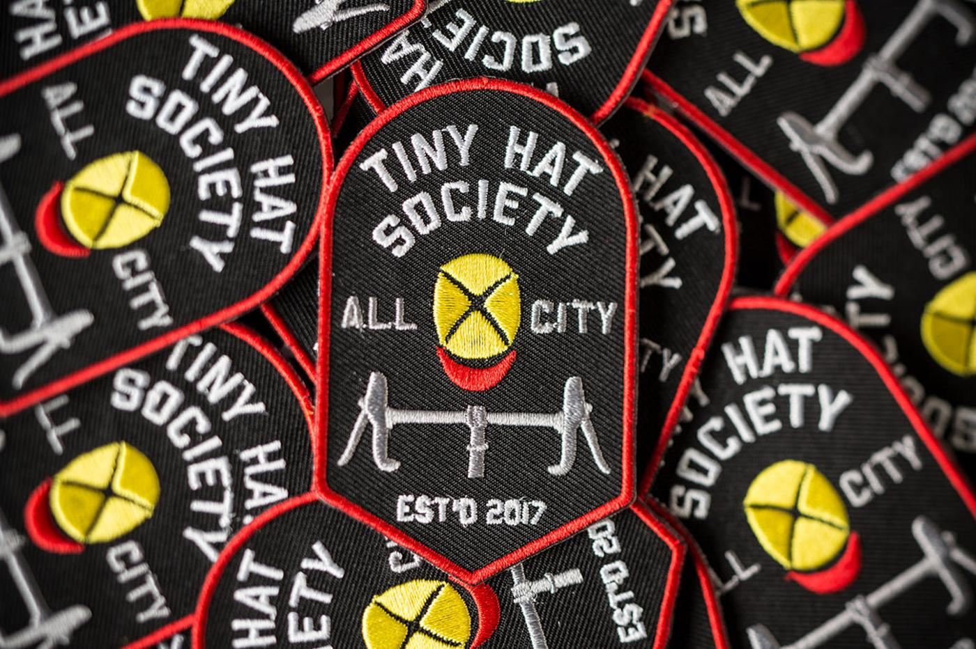 Free Patches for the All-City Tiny Hat Society