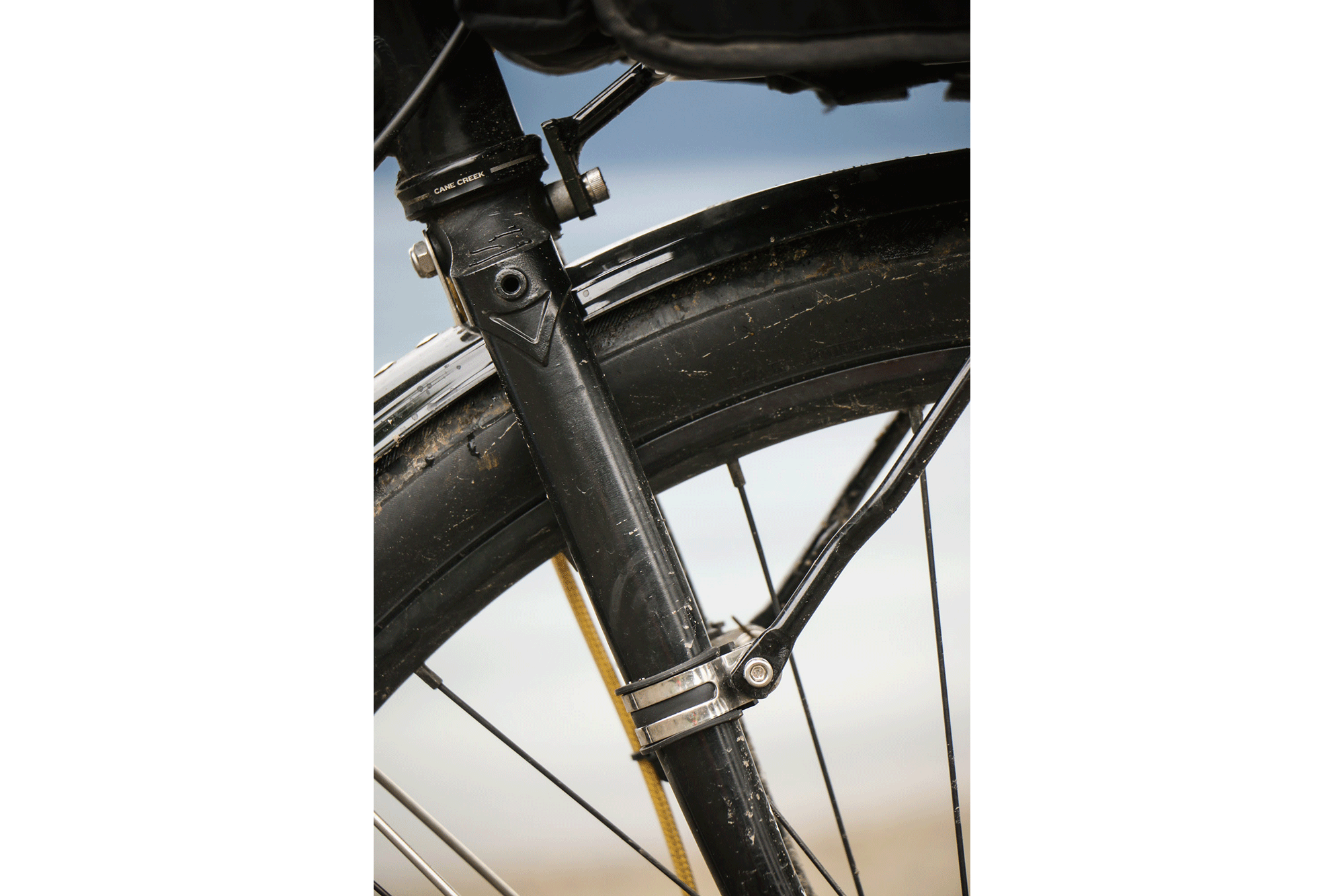 Stephanie's Blacked Out 650B Straggler – Morgan Taylor