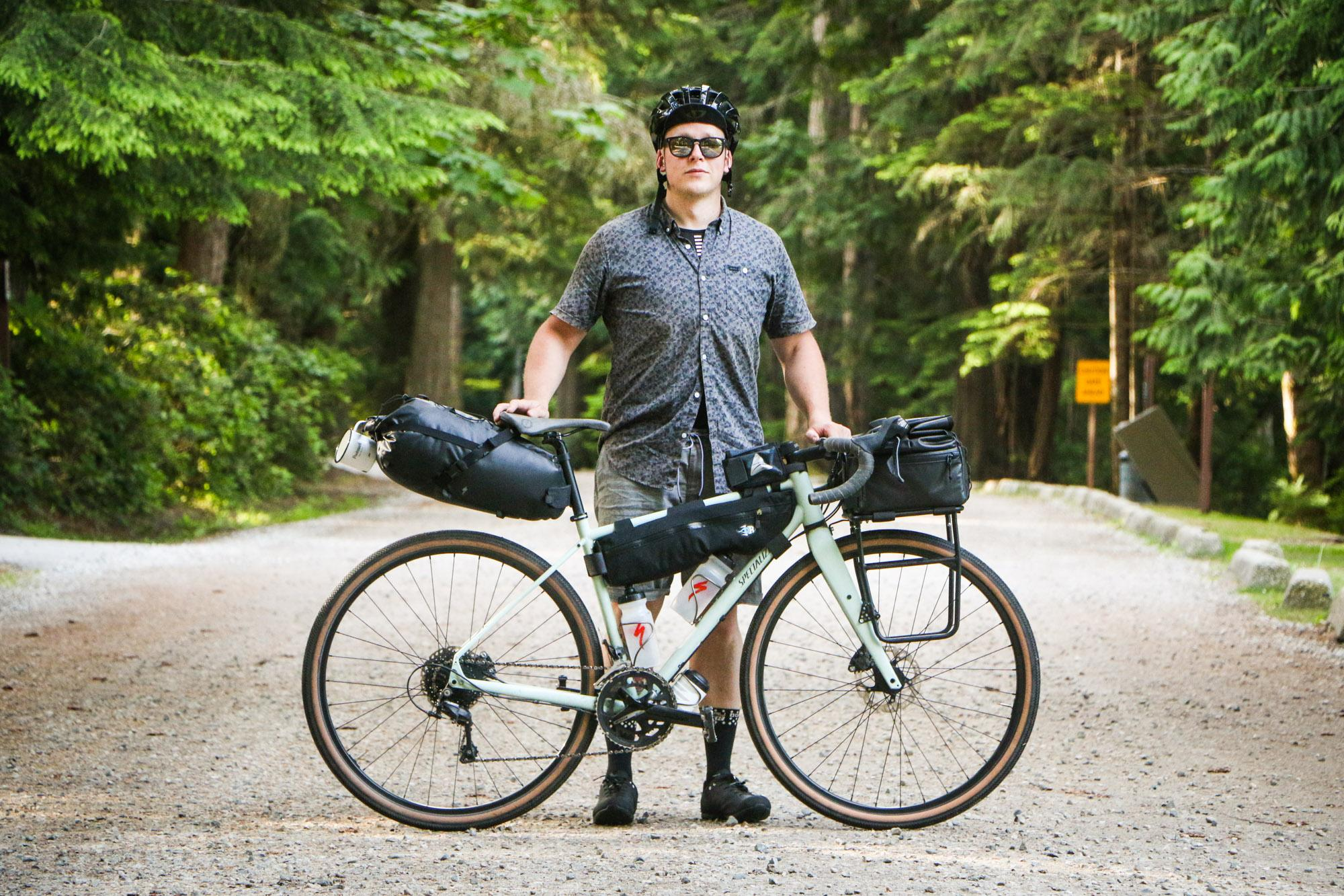 Graham and his Specialized Sequoia