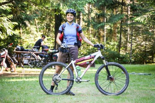 Natalia and her Specialized Stumpjumper
