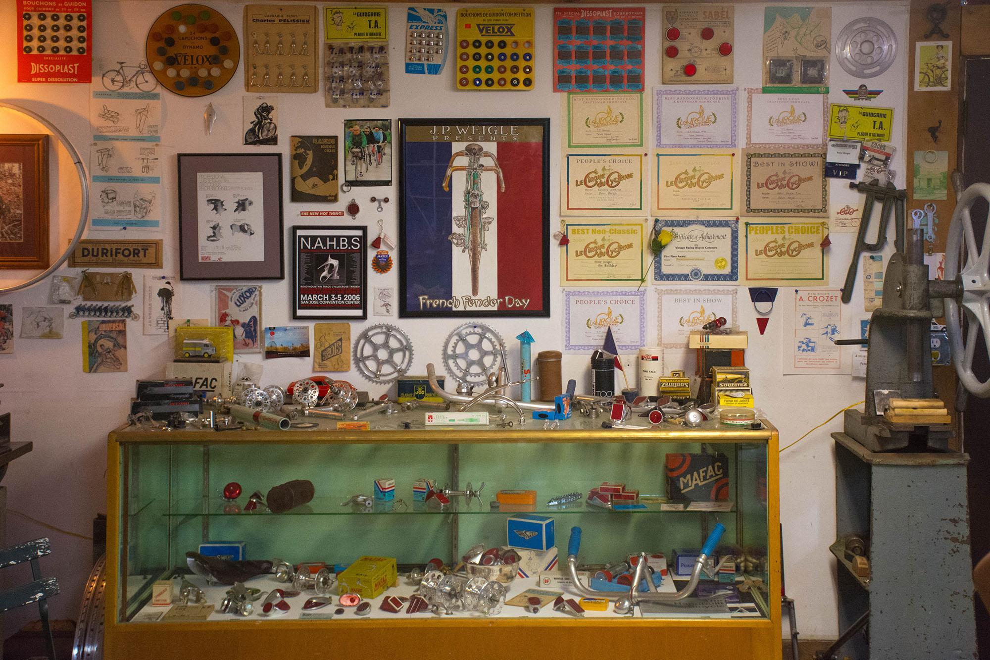 J P Weigle's shop!