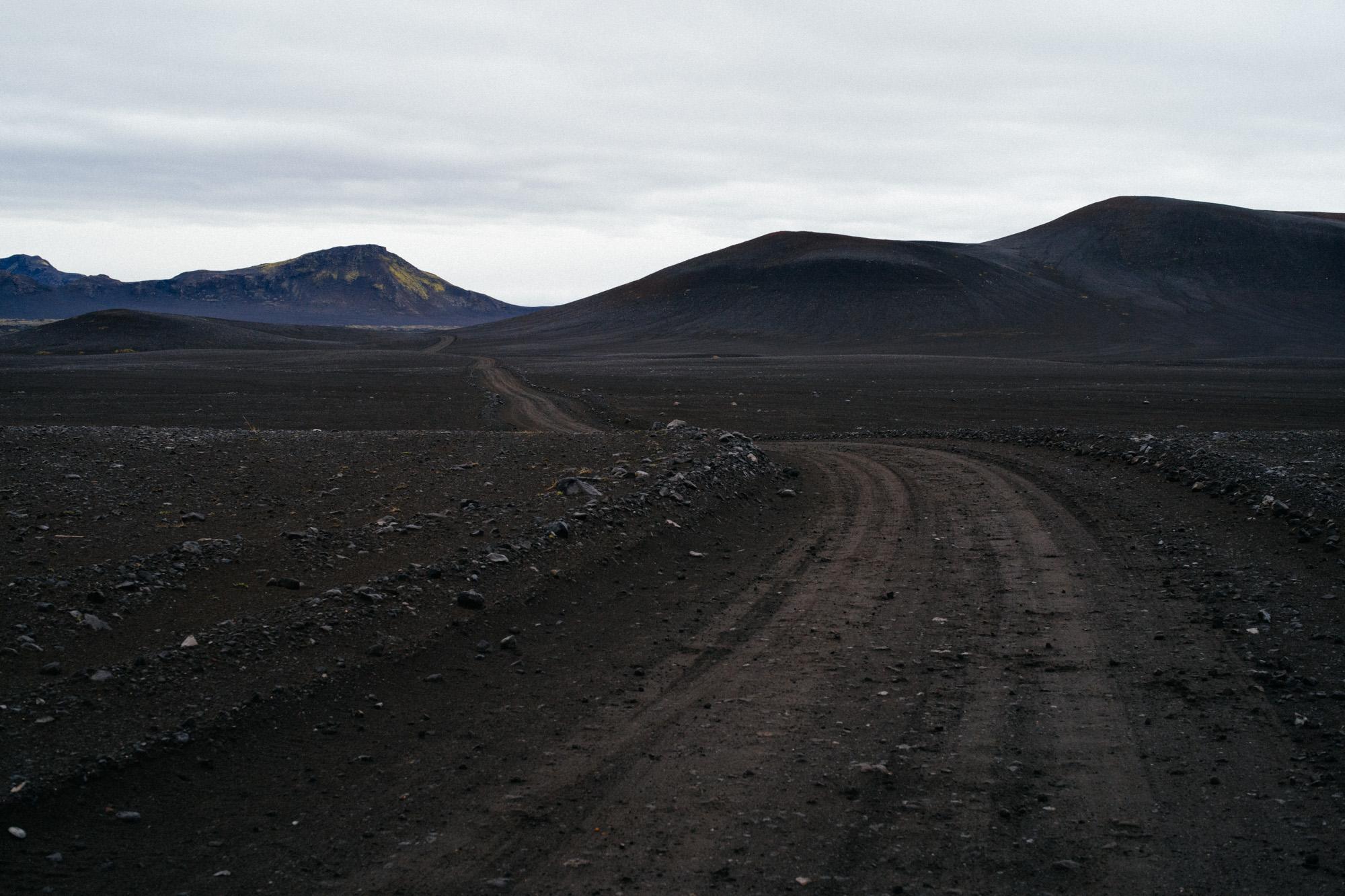 Cinder road